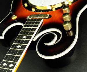 GoldTone EBM-5 Solidbody Electric Banjo