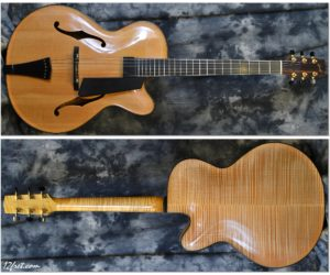 Oskar Graf Archtop 2005 (Consignment) No Longer Available