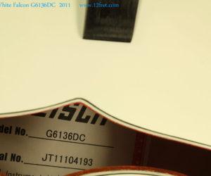 Gretsch White Falcon G6136DC