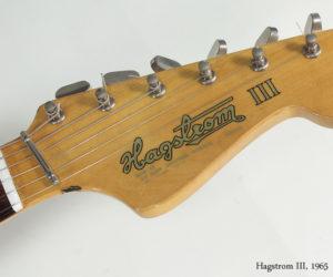 1965 Hagstrom III No Longer Available