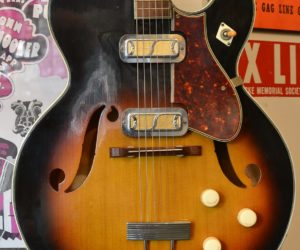 Harmony Meteor guitar and H304A 1960 (Consignment) No Longer Available