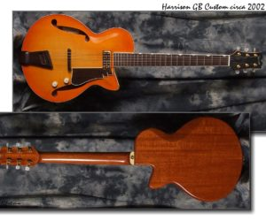 Harrison GB Custom 2002 (Consignment) SOLD
