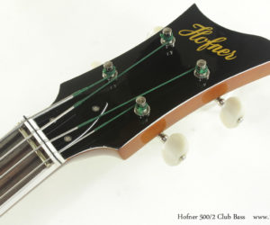 Hofner 500/2 Club Bass