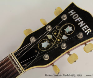 Sold!  1965 Hofner Verithin model 4574