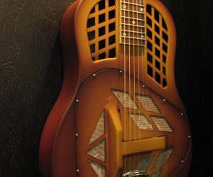 New at NAMM 2011: National ResoPhonic 12 string M-1 Tricone Wood-Body