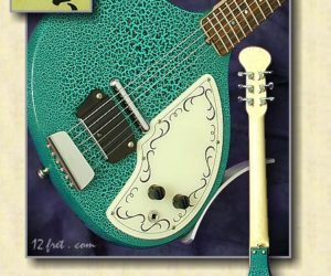 Jerry Jones Baby Sitar SOLD and Discontinued