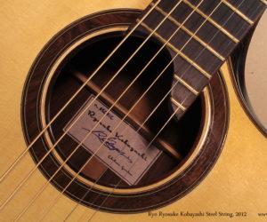 Ryo Ryosuke Kobayashi Steel String, 2012