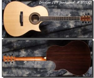 Larrivee C09 Snakewood 2009 (Consignment) SOLD