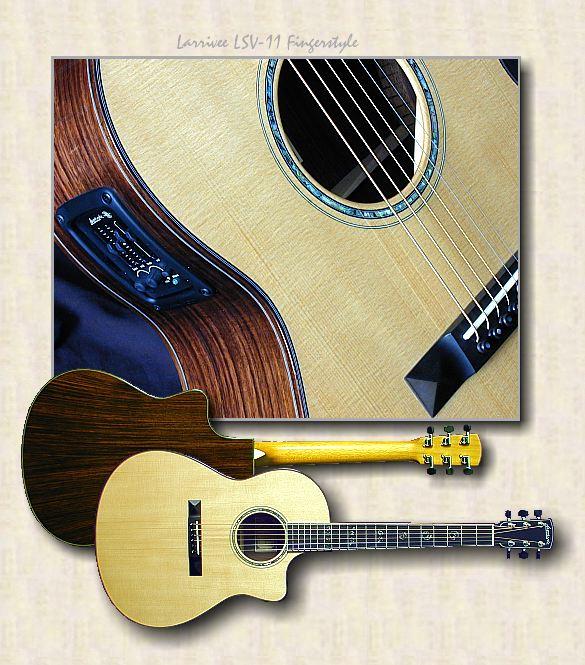 larrivee guitars lsv 11 fingerstyle. Black Bedroom Furniture Sets. Home Design Ideas