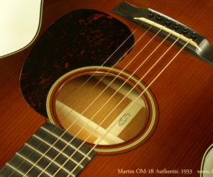 (Discontinued) Martin OM-18 Authentic 1933