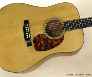 1946 Martin D18 (consignment) SOLD