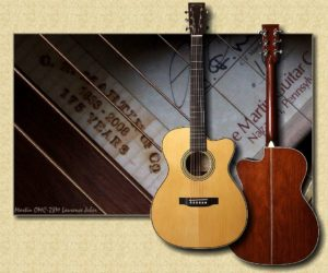 Martin OMC-28M Laurence Juber (DISCONTINUED)
