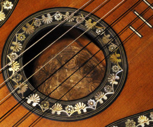 French Romantic era Guitar 1828