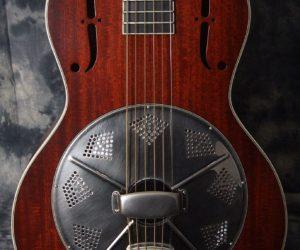 National Resophonic Guitars Baritone El Trovador