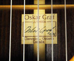 Oskar Graf Classical 1996 (consignment) SOLD