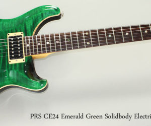 SOLD!!! 2008 PRS CE24 Emerald Green Solidbody Electric Guitar