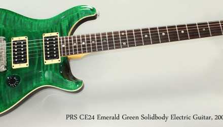 PRS-CE24-Emerald-Green-Solidbody-Electric-Guitar-2008-Full-Front-View