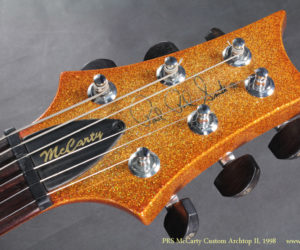 2008 Gold Sparkle PRS McCarty Archtop II  SOLD