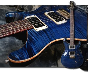 PRS Custom 24 10 Top Whale Blue SOLD