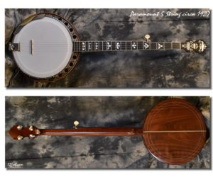 Paramount 5 String Conversion Banjo 1927 (Consignment) No Longer Available