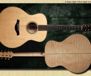 R. Taylor Style 1: Flame Maple SOLD