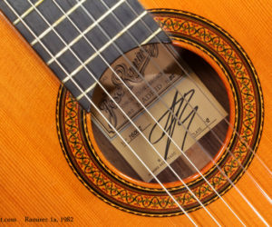 1982 Ramirez 1a Classical Guitar SOLD