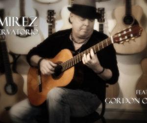 Ramirez Conservatorio Concert Classical Guitar featuring Gordon O'Brien