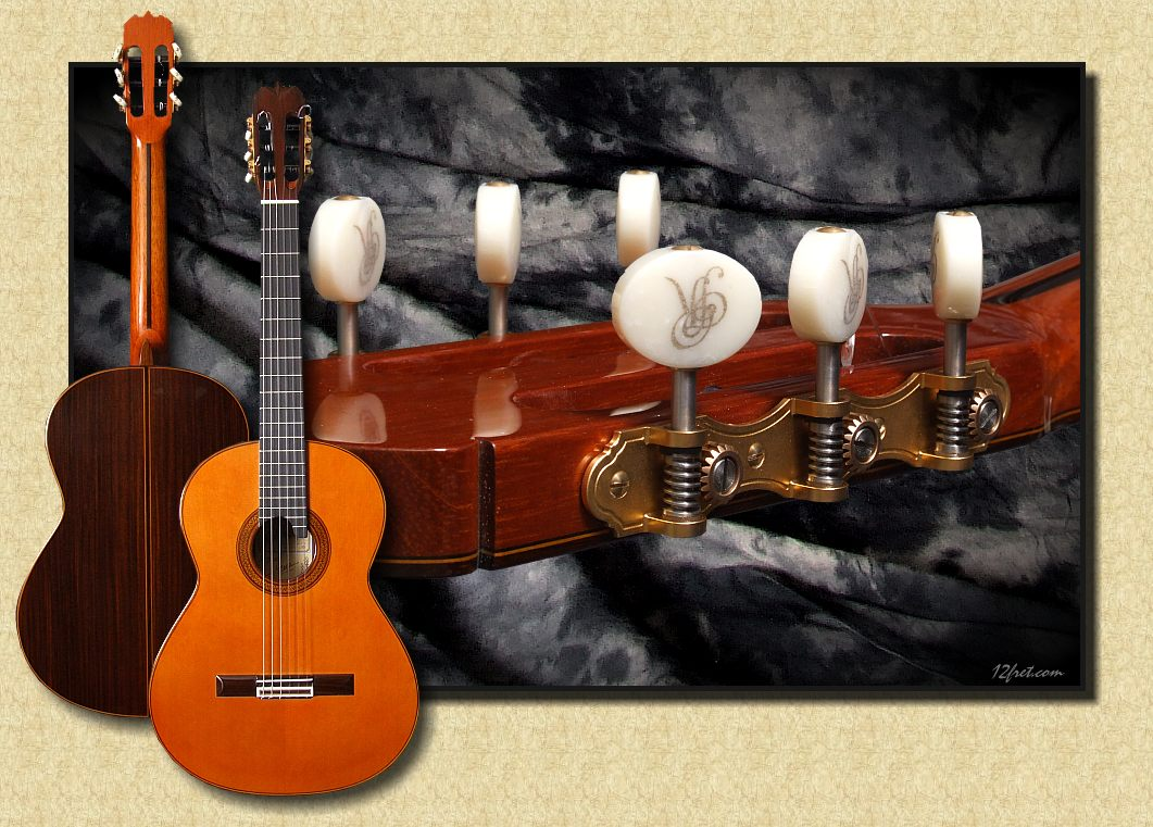 José Ramírez Auditorio 1a Professional: New Double-Top Guitar - The Twelfth Fret