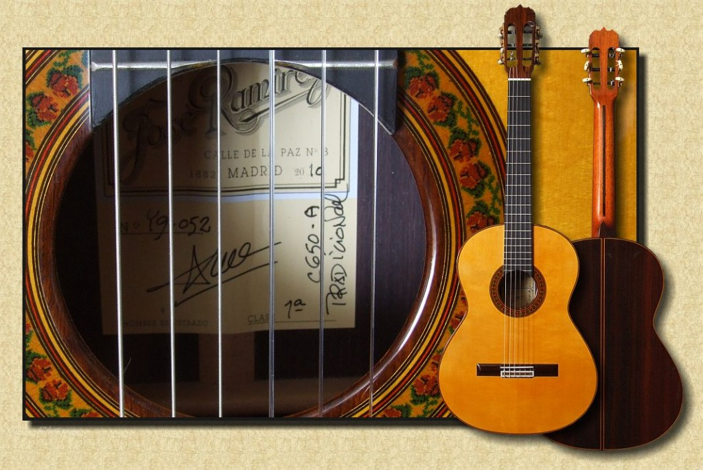 Ramírez Model 1a C-650 Traditional Spruce Concert Classical Guitar - The Twelfth Fret