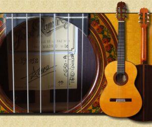 Ramírez Model 1a C-650 Traditional Spruce Concert Classical Guitar