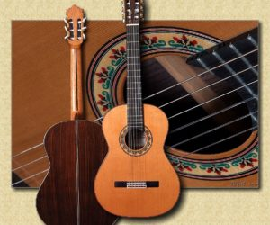Ramírez Model 2N-E Classical Guitar