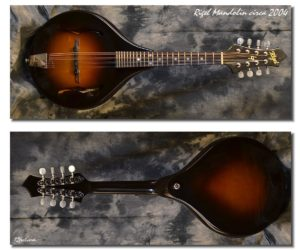 Rigel A-Style Mandolin 2004 (Consignment) SOLD
