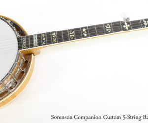 ❌SOLD❌ Sorenson Companion Custom 5-String Banjo Maple, 2017
