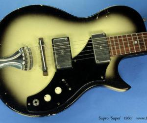 Supro 'Super' model, 1960  SOLD