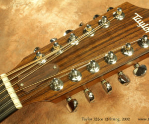 2002 Taylor 355ce 12 String Acoustic  (consignment) SOLD