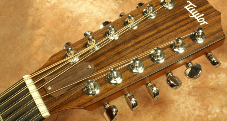 Taylor-355ce-12-string-Acoustic-2002-head-front