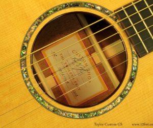 Taylor Custom GS Mahogany 2011 (Consignment) SOLD
