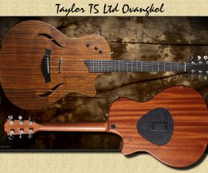 DISCONTINUED:   Taylor T5-X Ovangkol Top