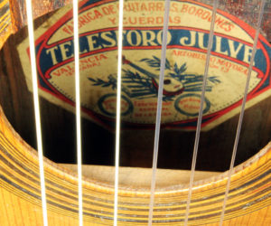 Telesforo Julve Lyra Guitar Spain circa 1900 (consignment) SOLD