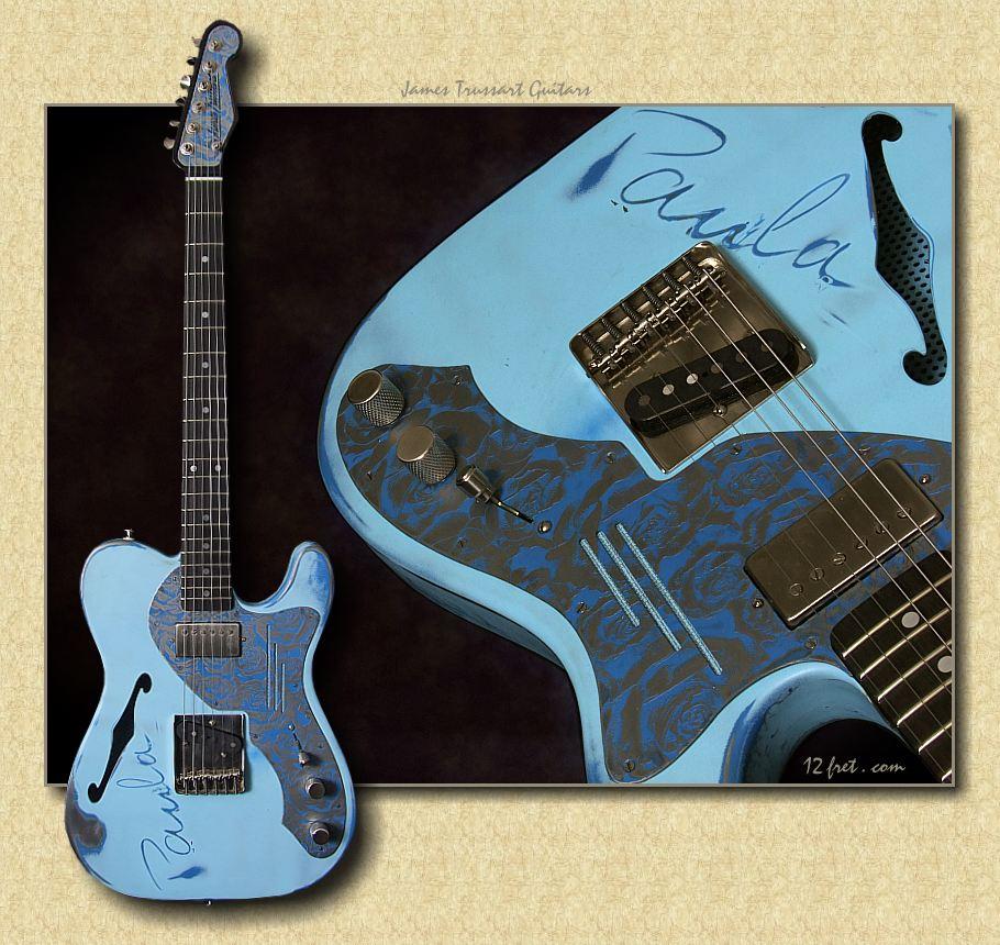 new trussart electric guitars for sale. Black Bedroom Furniture Sets. Home Design Ideas