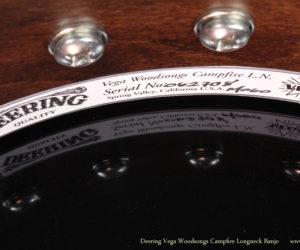 Deering Vega Woodsongs Campfire Long Neck Banjo  SOLD