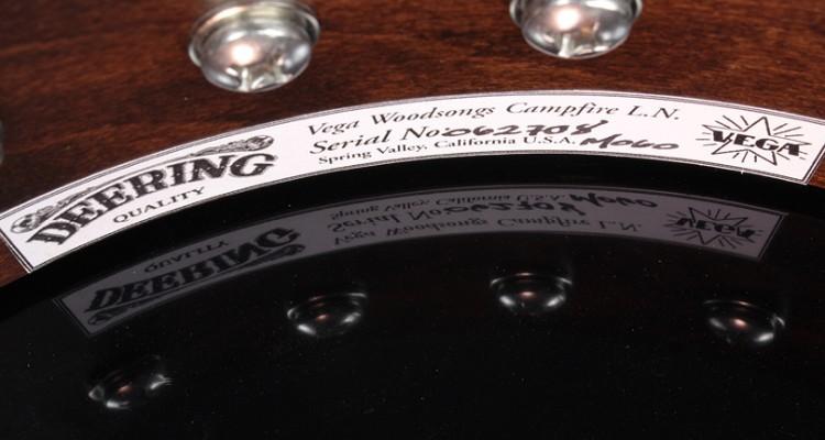 Vega-Woodsongs-Campfire-Long-Neck-Banjo-label