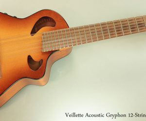 2010 Veillette Acoustic Gryphon 12-String (SOLD)