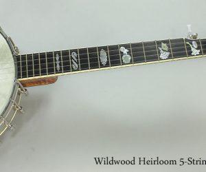 2005 Wildwood Heirloom 5-String Banjo (SOLD)
