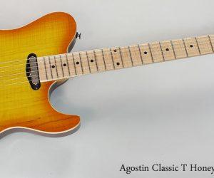 NO LONGER AVAILABLE! 2015 Agostin Custom Classic T Honeyburst