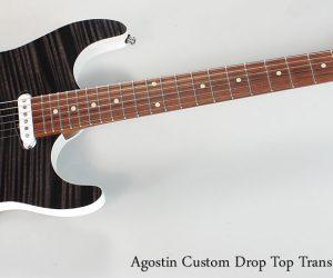 NO LONGER AVAILABLE! 2014 Agostin Custom Drop Top Trans Black