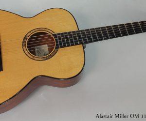 SOLD!!! 2007 Alastair Miller OM 115 Guitar