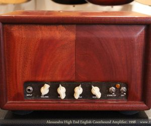 1998 Alessandro High End English Coonhound Amplifier  SOLD