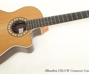 Alhambra CS3 CW Crossover Cutaway E Series