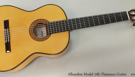 Alhambra-Model-10fc-Flamenco-Guitar-Full-Front-View